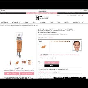it Cosmetics Bye Bye Foundation In Tan Shade